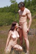 Couples Standing Naked Together  #1336406