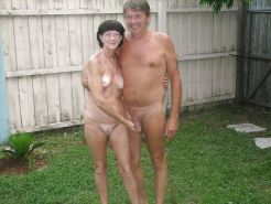 Couples Standing Naked Together  #1336446