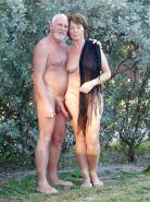 Couples Standing Naked Together  #1336479