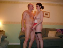 Couples Standing Naked Together   #1337366