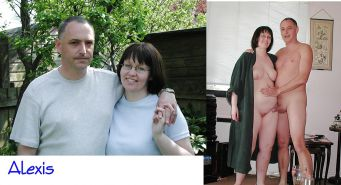 Couples Standing Naked Together   #1337376