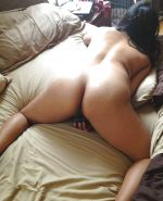 Curvy asian whore gets a creampie