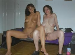 Old and Young Lesbians - Moms with Teens #3294279