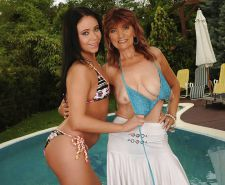Old and Young Lesbians - Moms with Teens #3294462