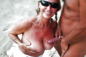 AMATEURS ONLY     COUPLE ON THE BEACH #20972314