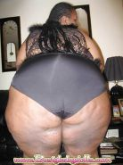 Mature ebony BBW ass