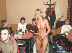 Naked Waitress