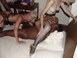 Hot Sexy Anne with two Lady Friends in a BBC GangBang