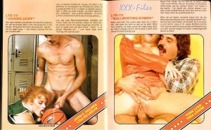 Vintage dirty movie catalogue