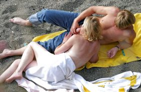 Group Sex Amateur Beach #rec Voyeur G9 #12472766
