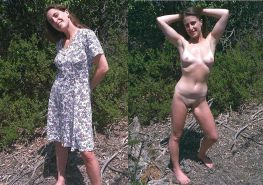 DRESSED & UNDRESSED: HOT TEENS & MILFs