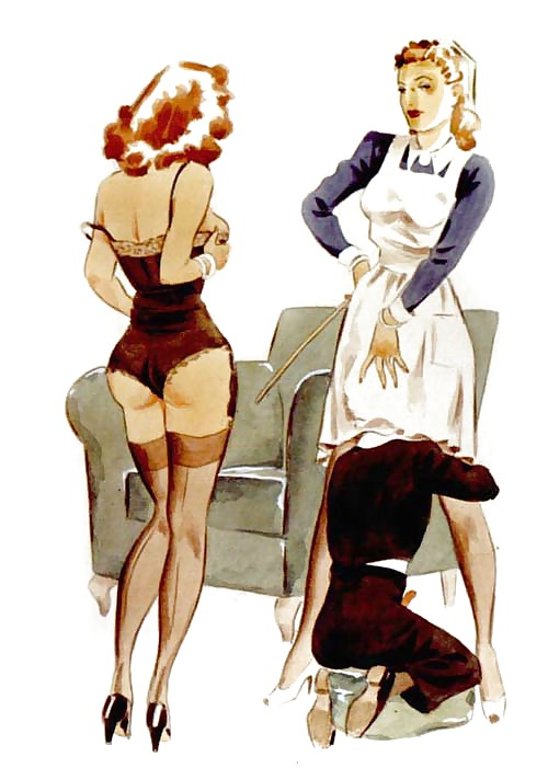 Erotic Vintage drawings Porn Pics #295265