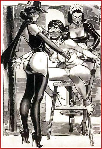 Erotic Vintage drawings Porn Pics #295273