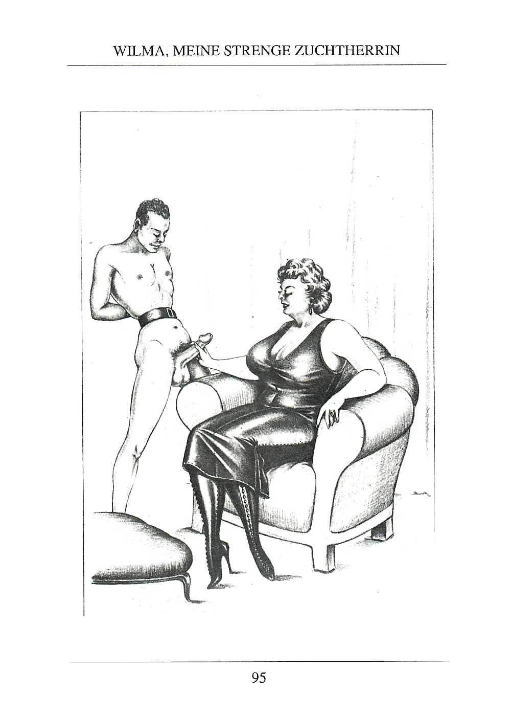 Erotic Vintage drawings Porn Pics #295695