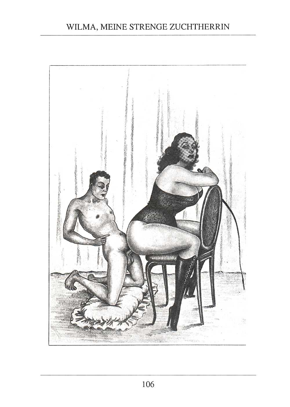 Erotic Vintage drawings Porn Pics #295786