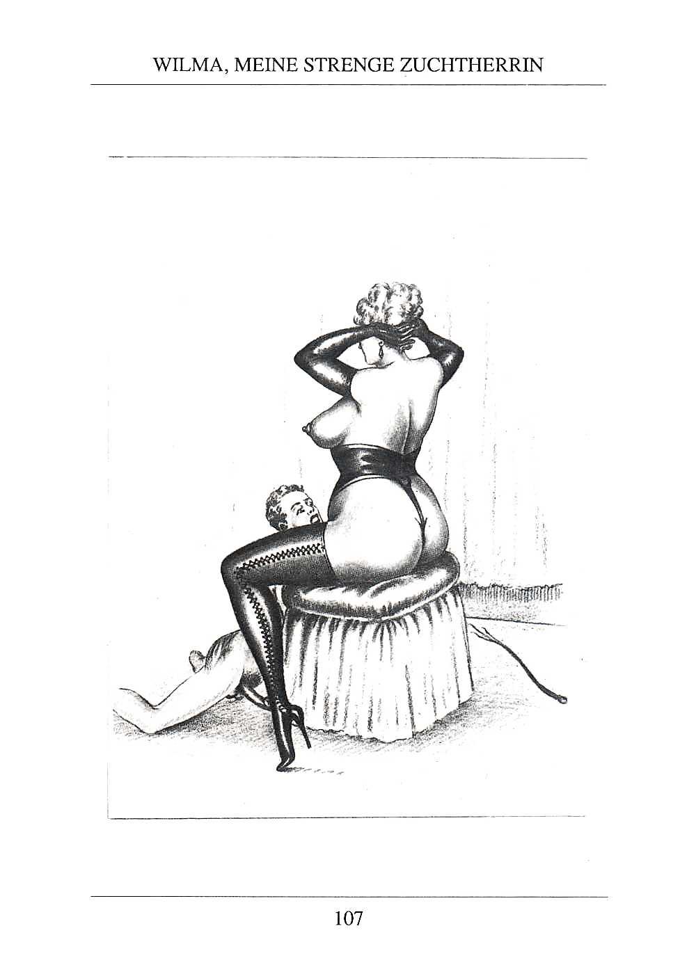 Erotic Vintage drawings Porn Pics #295792