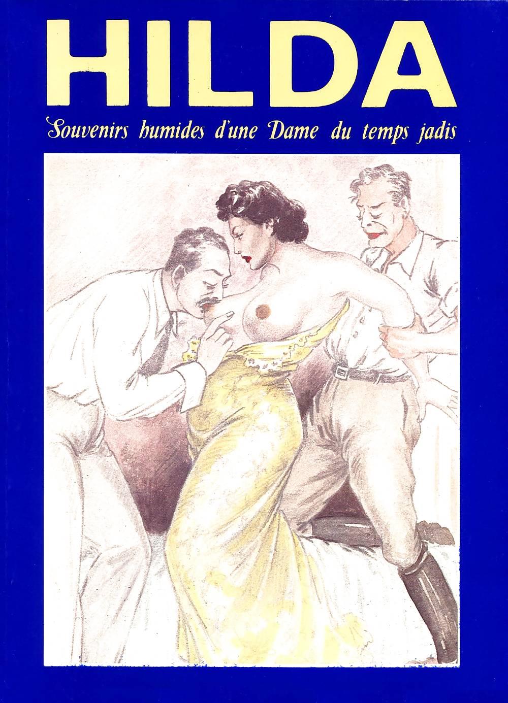 Erotic Vintage drawings Porn Pics #295981