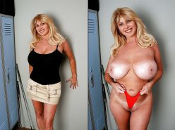 Dressed and undressed beauties 103 (only milf )