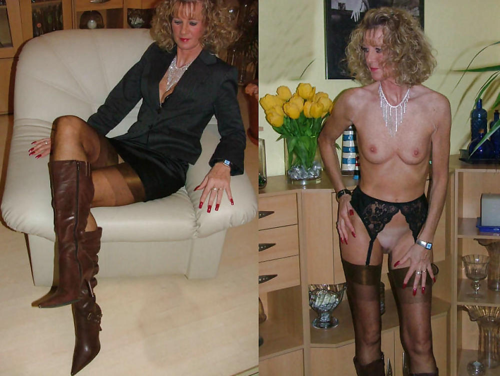 Some hot MILF,BaBe&Mature DReSSeD UNdresseD Amateur Mixed  Porn Pics #21543948