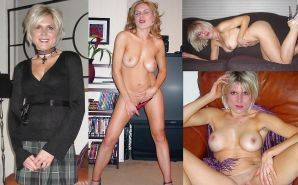 Some hot MILF,BaBe&Mature DReSSeD UNdresseD Amateur Mixed  Porn Pics #21543906