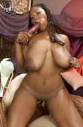 Delotta Brown plays with her favorite toy cock