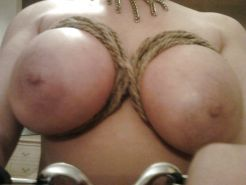 Big Boobs Tied up 2