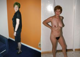 Dressed - Undressed Hairy Women Part 2 #2267039