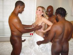 BLACKED -WHITE WIVES IN HEAT