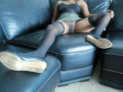 Ebony MILF Stockings