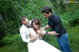 Just Married: Savage Anal