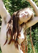 Hairy redhead teen with Dreadlocks - N. C.