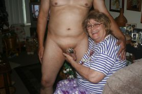 Granny and her CBT SLave