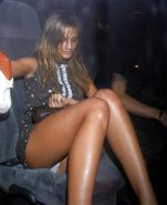 Beautiful Celebs Upskirt Out of the Car by Voyeur TROC #9920172