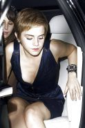 Beautiful Celebs Upskirt Out of the Car by Voyeur TROC #9920323