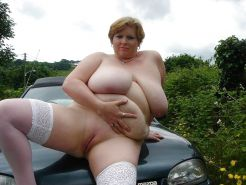 Natural Boobs & Asses in, ontop and by the Car! #2
