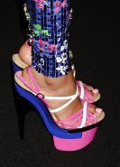 Nicki minaj and her feet