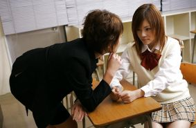 JAPANESE LESBIAN AFTER SCHOOL DETENTION #1942356