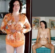 Mature milf dressed undressed 3 #11310976