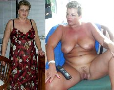 Mature milf dressed undressed 3 #11310985