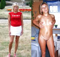 Mature milf dressed undressed 3 #11311184