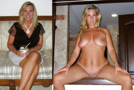 Mature milf dressed undressed 3 #11311227