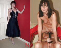 Mature milf dressed undressed 3 #11311253