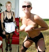 Mature milf dressed undressed 3 #11311428