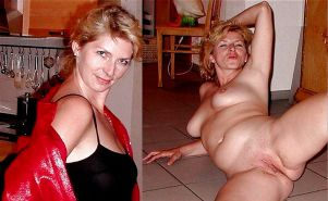 Mature milf dressed undressed 3 #11311433