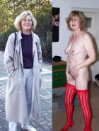 Mature milf dressed undressed 3 #11311483
