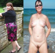 Mature milf dressed undressed 3 #11311489
