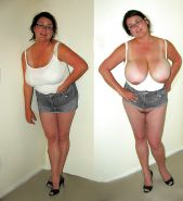 Mature milf dressed undressed 3 #11311611
