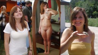 Mature milf dressed undressed 3 #11311626