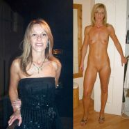 Mature milf dressed undressed 3 #11311634