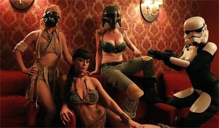 Star Wars The Filth Strikes Back from The Gentleman Pervert